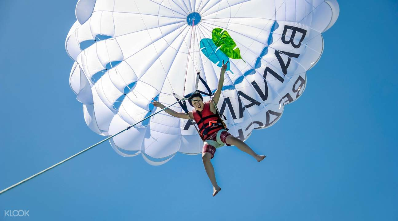 parasailing racha and coral island day tour by catamaran