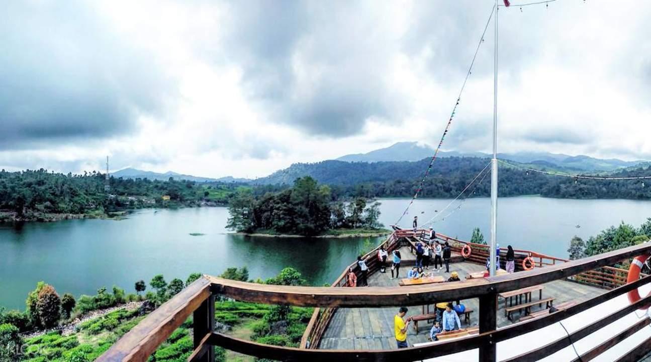 glamping lakeside bandung indonesia