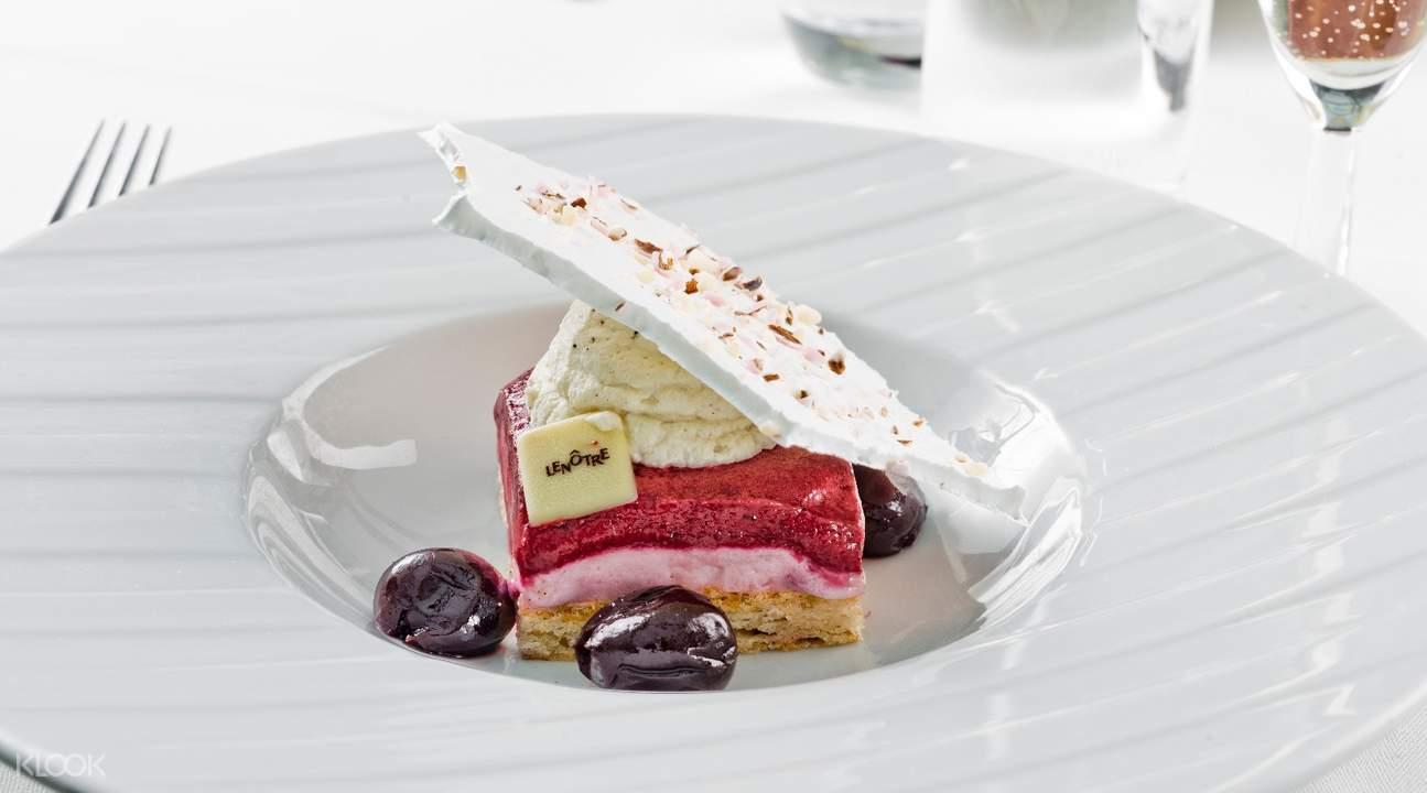 dessert cruise