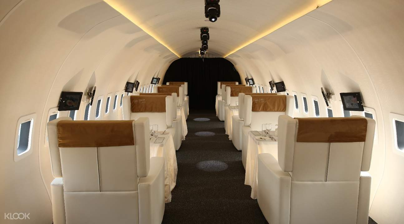 window seats plane in the city kuala lumpur malaysia