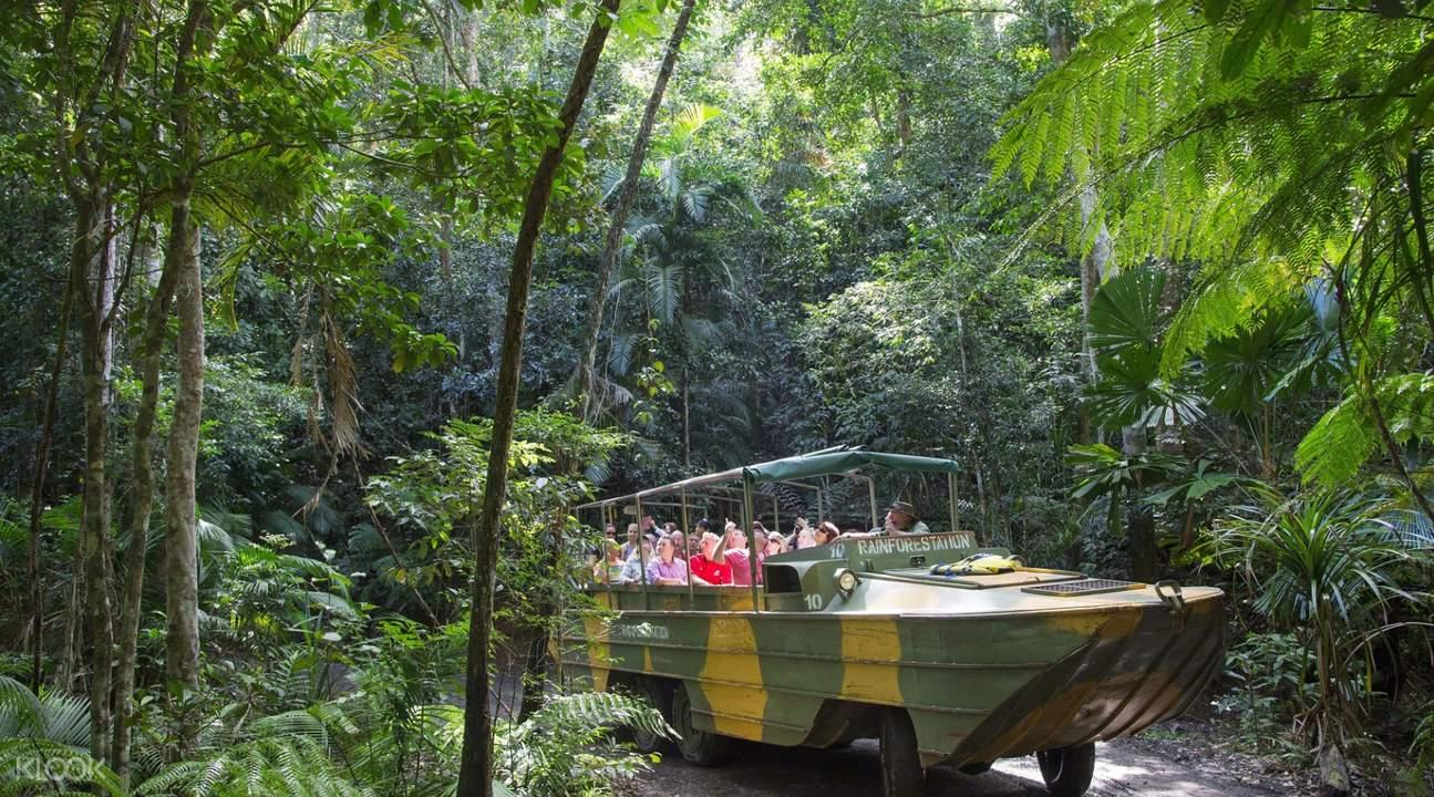 热带雨林水陆两用车