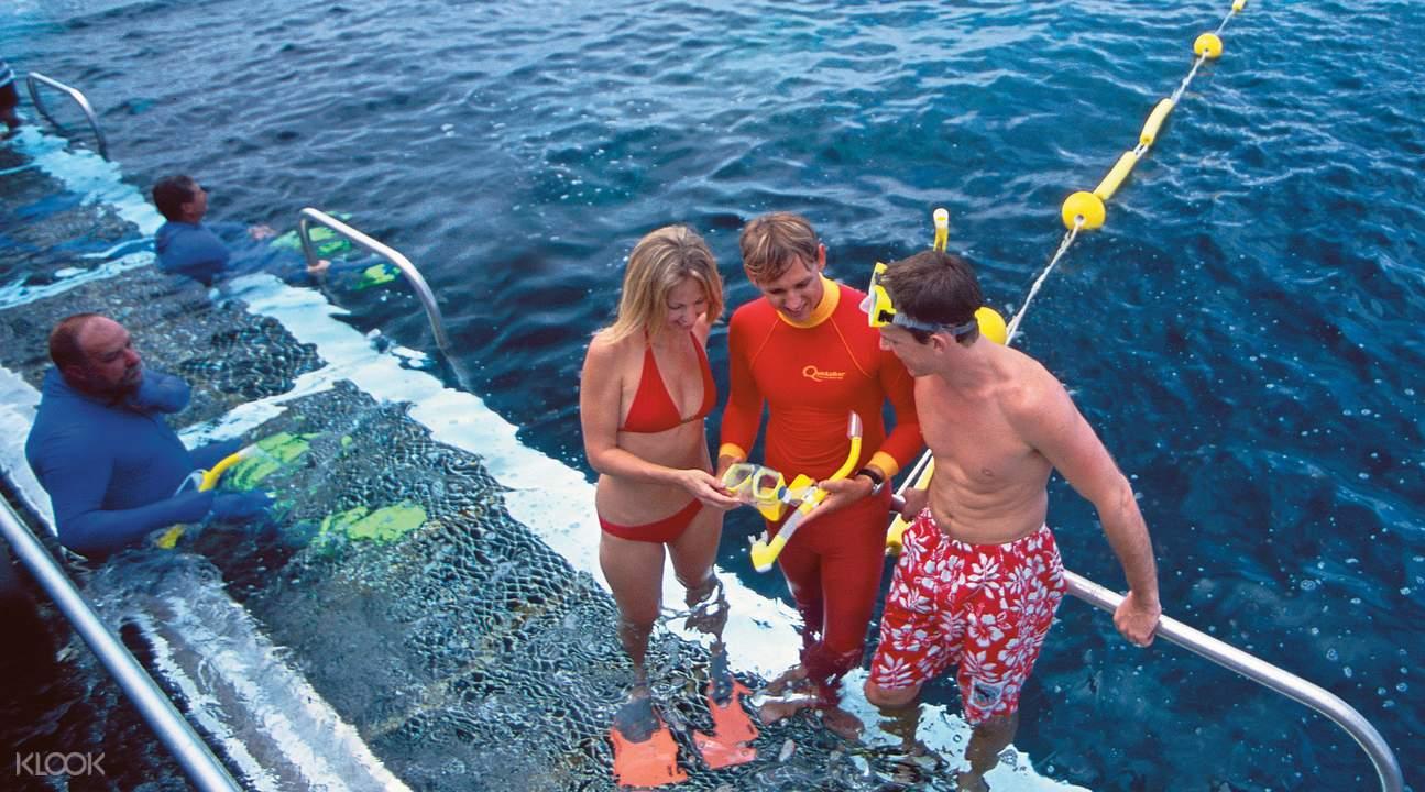 銀梭號外堡礁苦難角遊船兩日遊,外堡礁2日遊,丹翠雨林苦難角