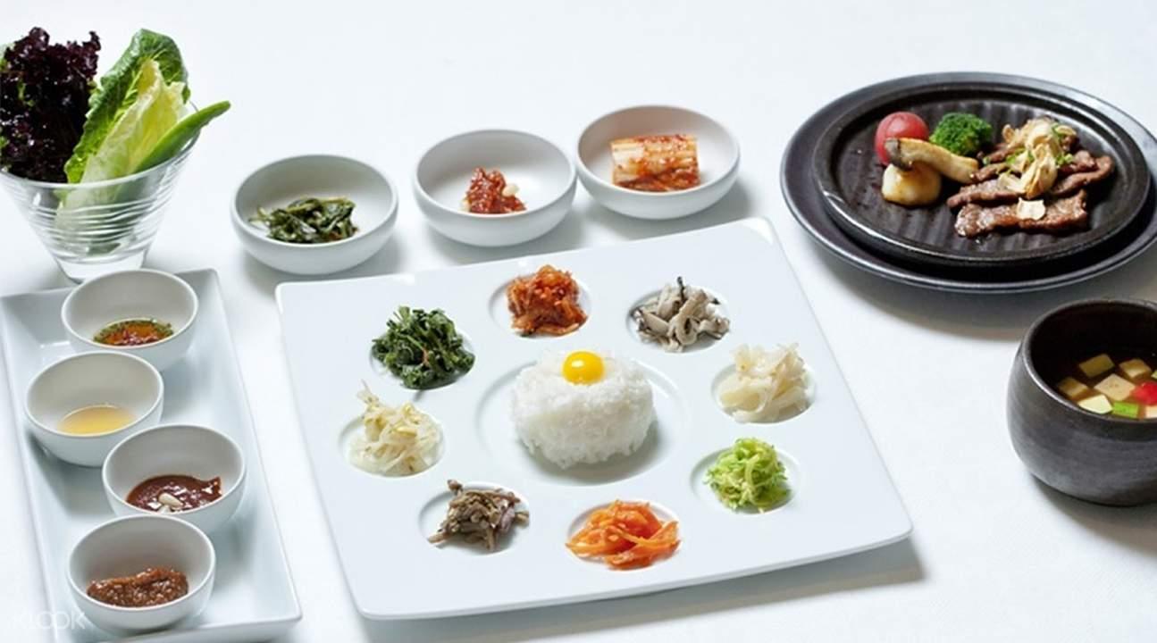 首尔木槿花餐厅高级韩国料理套餐