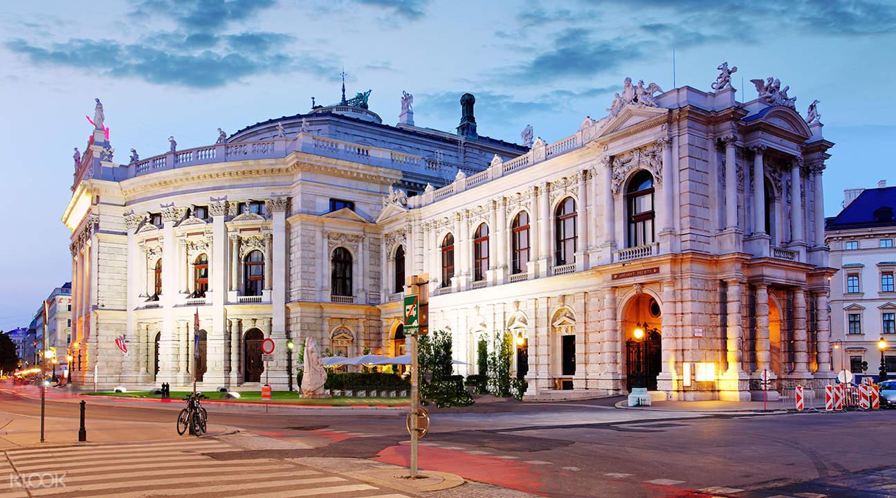 hop on hop off sightseeing bus vienna, national theatre vienna