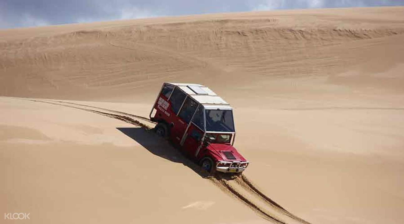 sand dune 4wd hummer tour in sydney