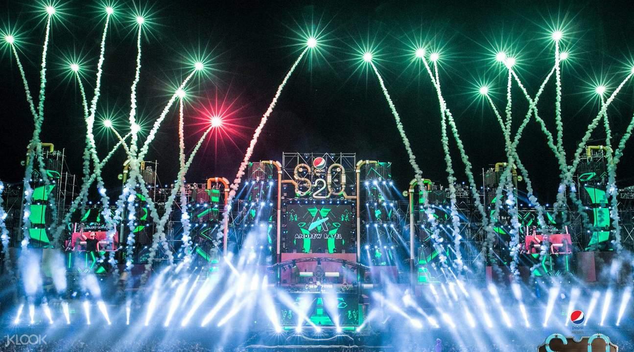 曼谷S2O音乐节2017