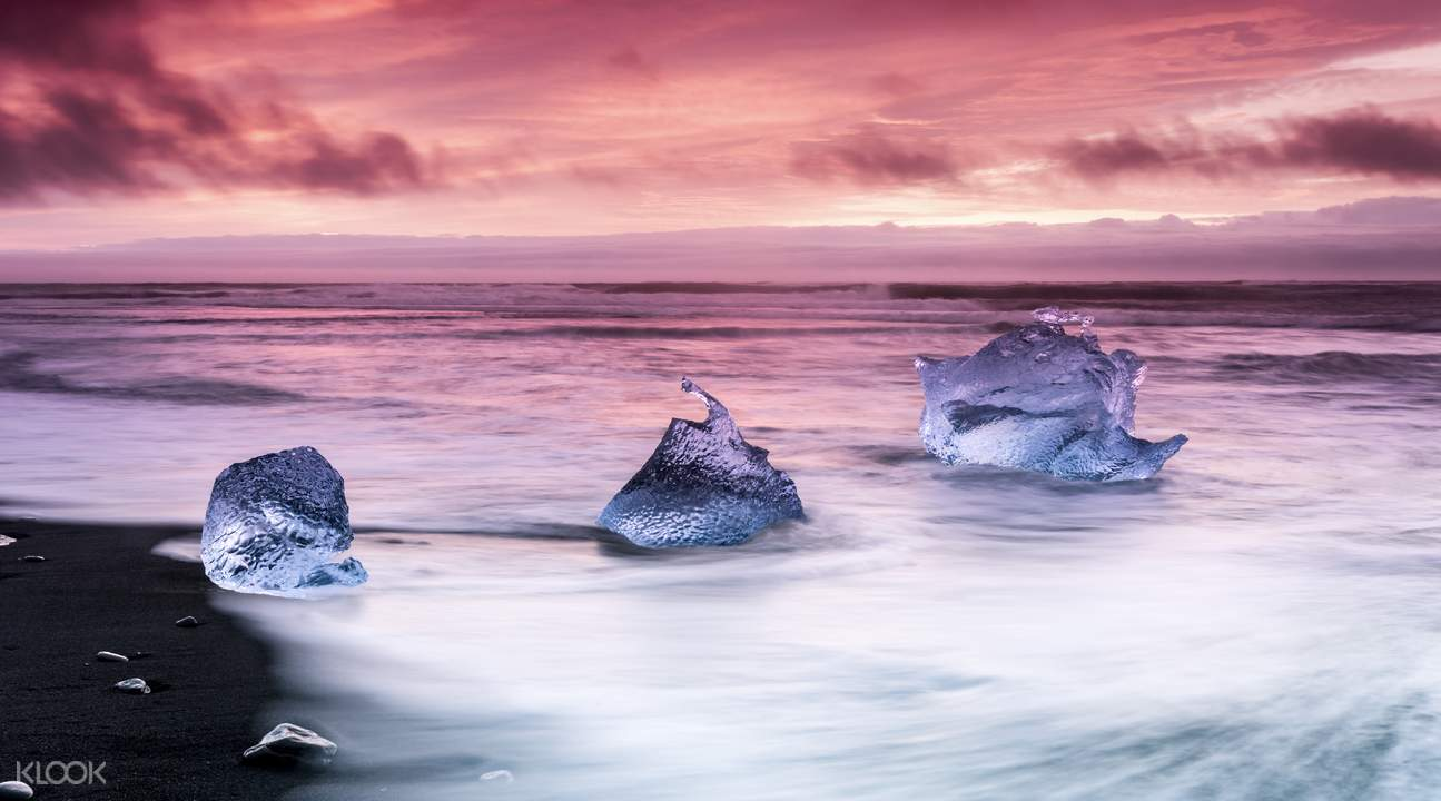 Jokulsarlon Glacial Lagoon & South Coast Day Trip