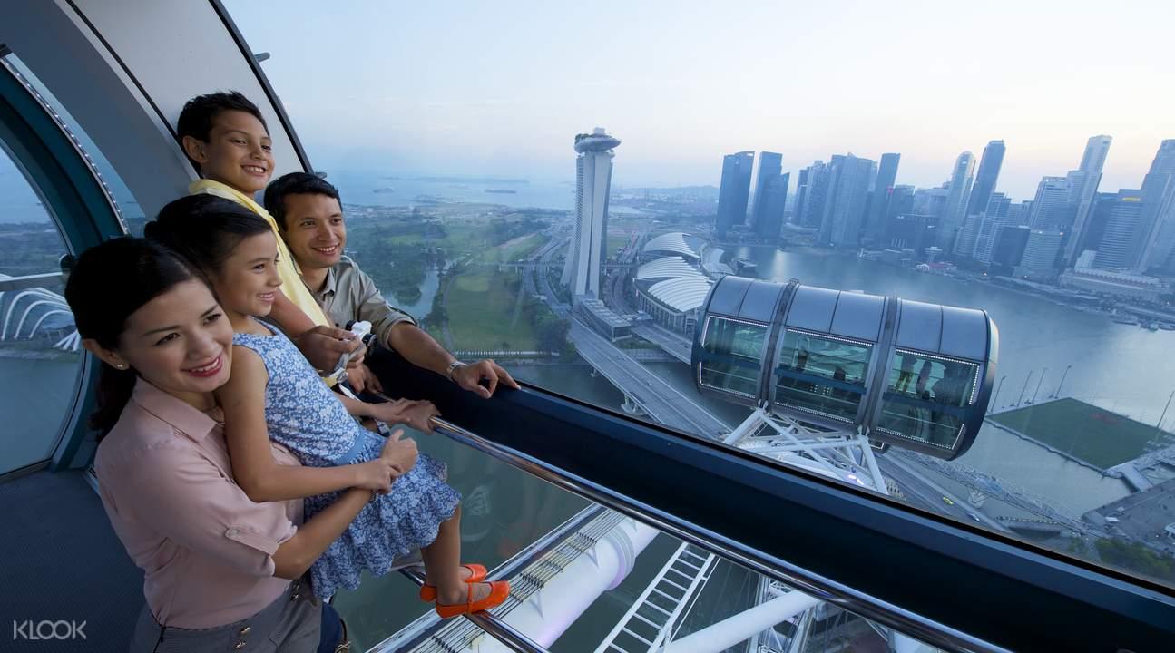 新加坡摩天轮体验