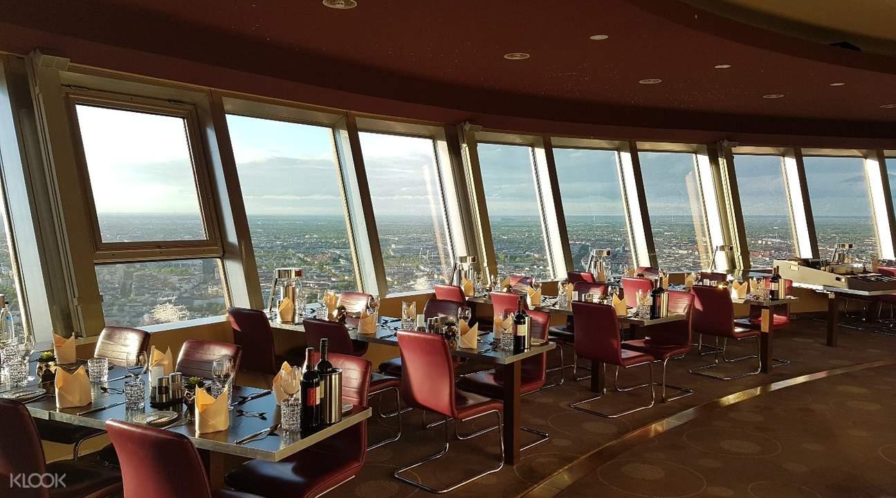柏林电视塔餐厅预订
