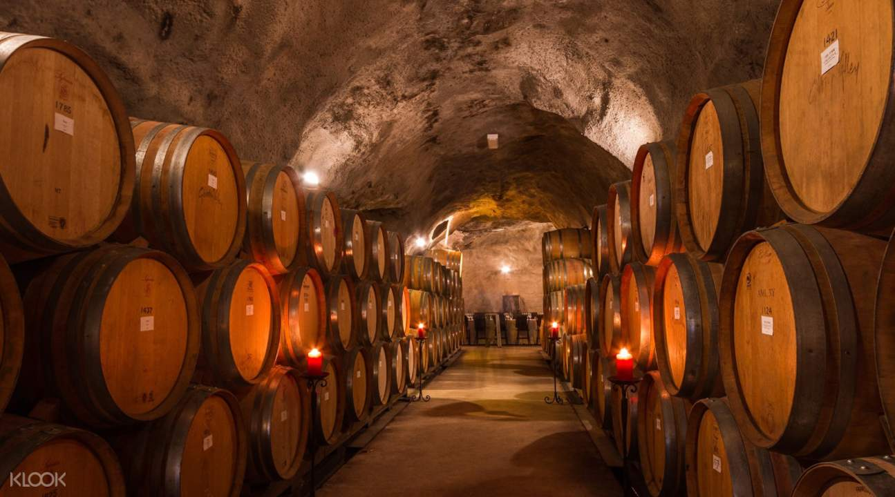 gibbston winery cave