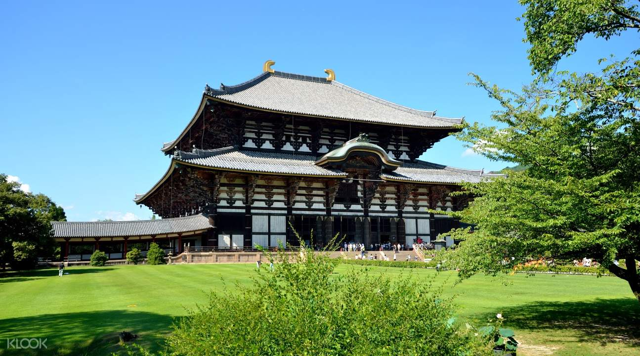 日本京都奈良古城探访一日游(大阪出发)