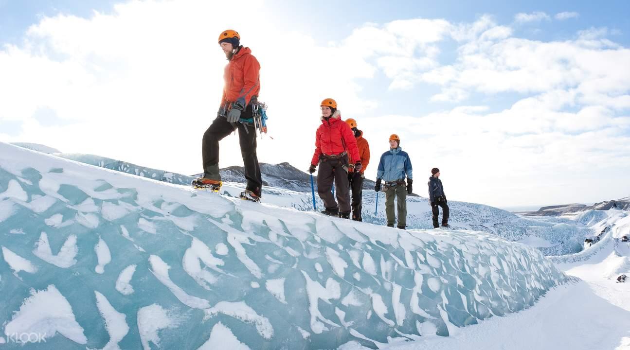 索爾黑馬冰川徒步攀冰一日遊