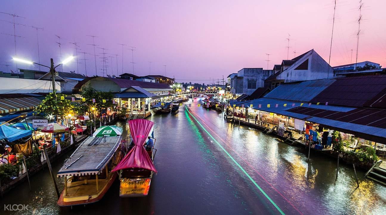 曼谷市场游览
