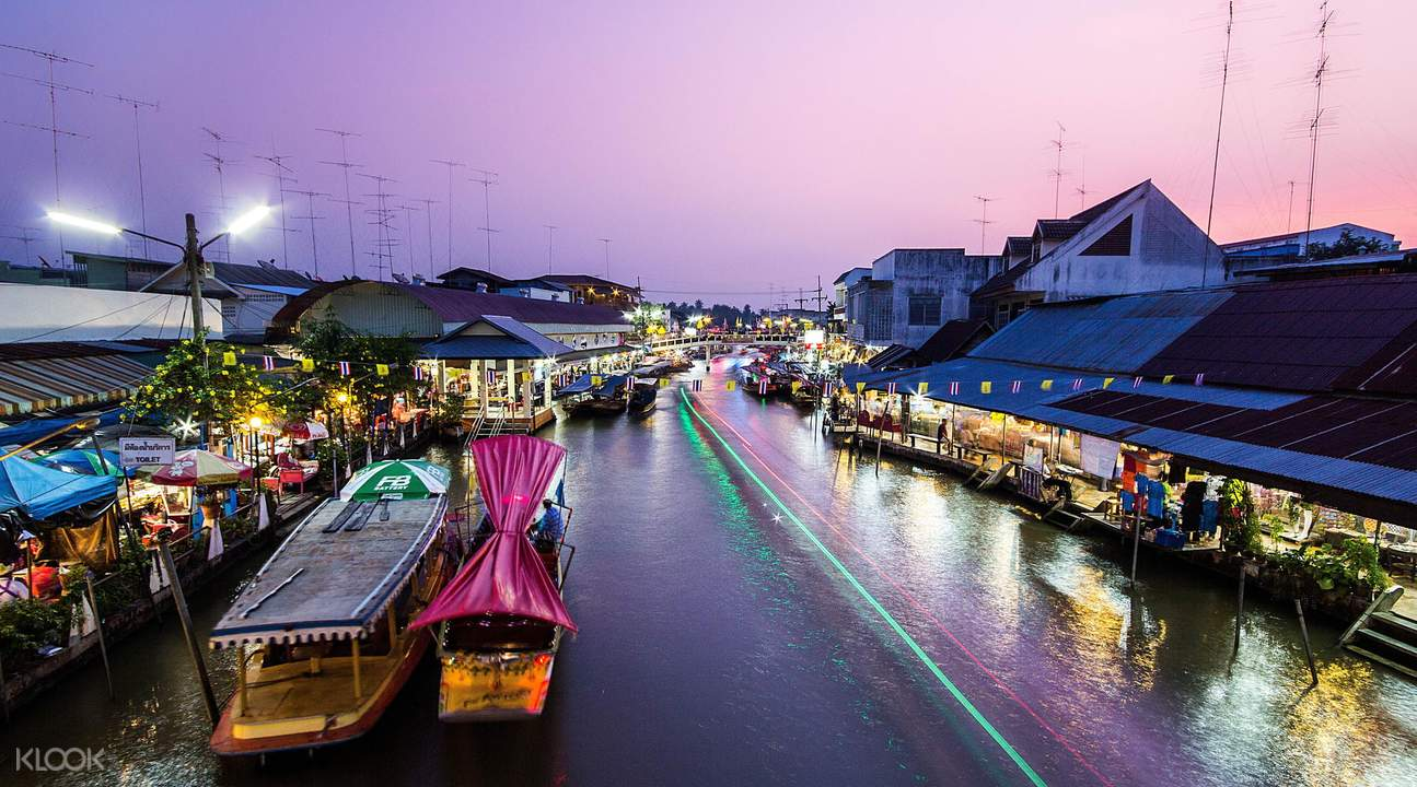 曼谷市場遊覽