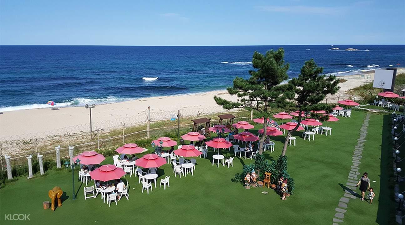 海邊全景咖啡廳