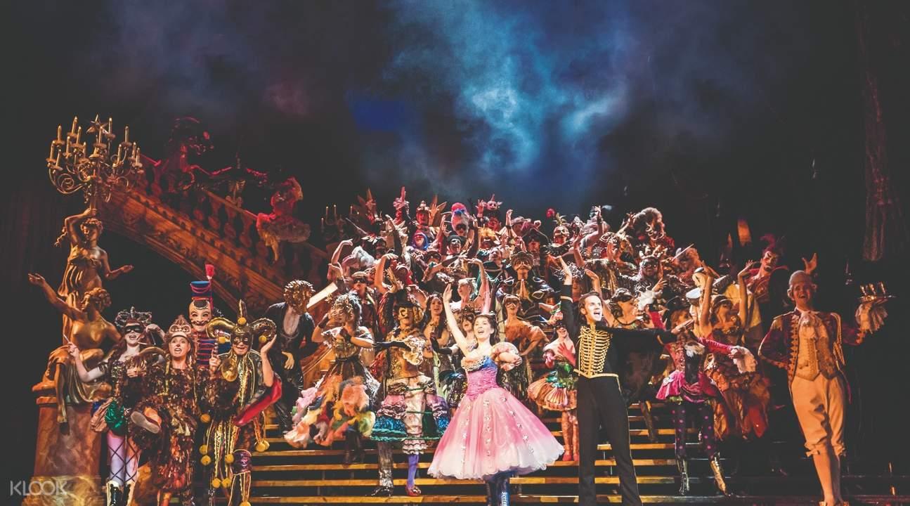 倫敦「歌劇魅影」音樂劇