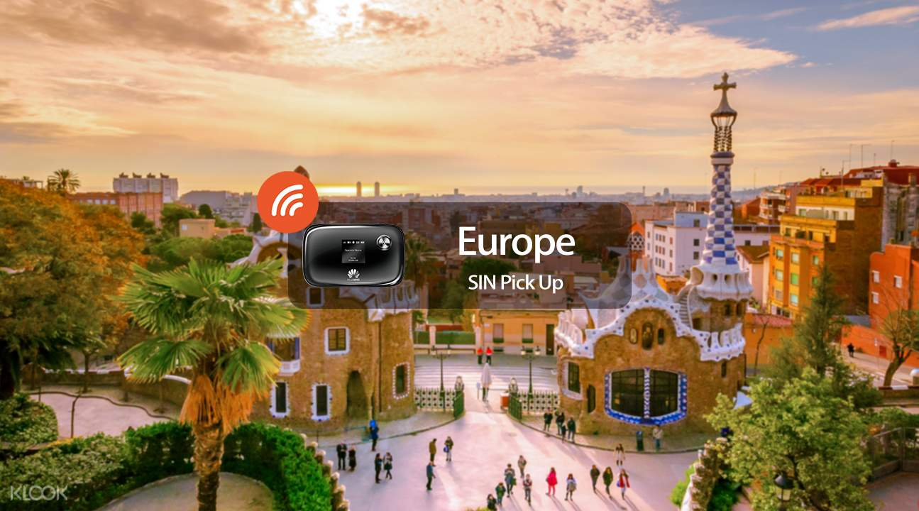 4G WiFi (SG Pick Up) for Europe - Klook