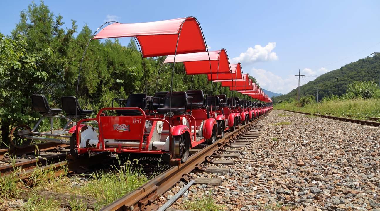加平鐵軌自行車