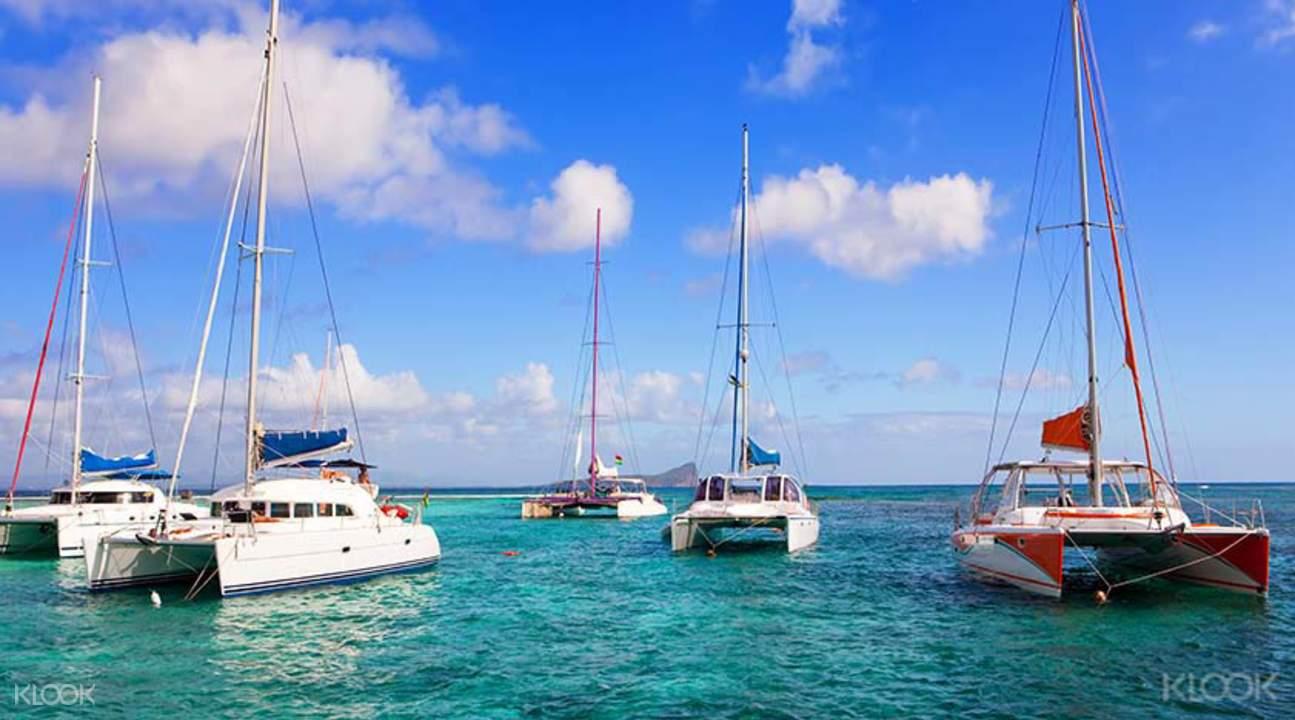 雙體船遊北三島