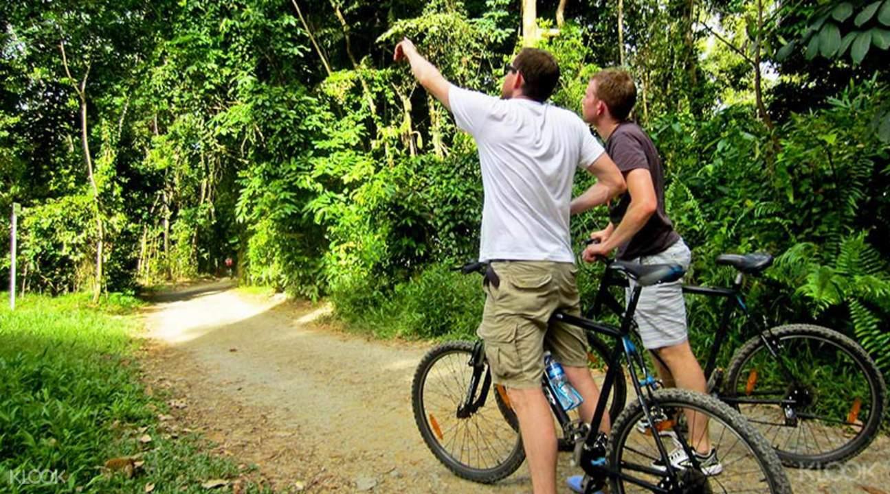 Pulau Ubin cycling