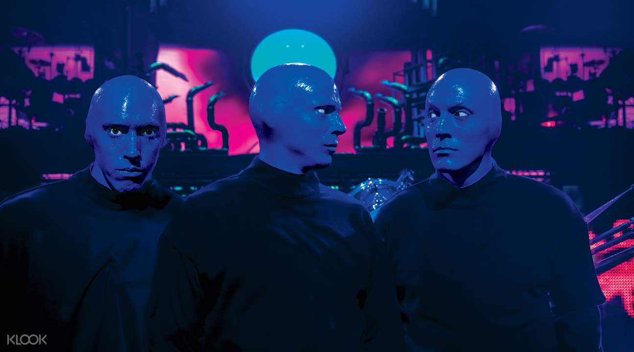 拉斯维加斯 「蓝人乐团」演出票