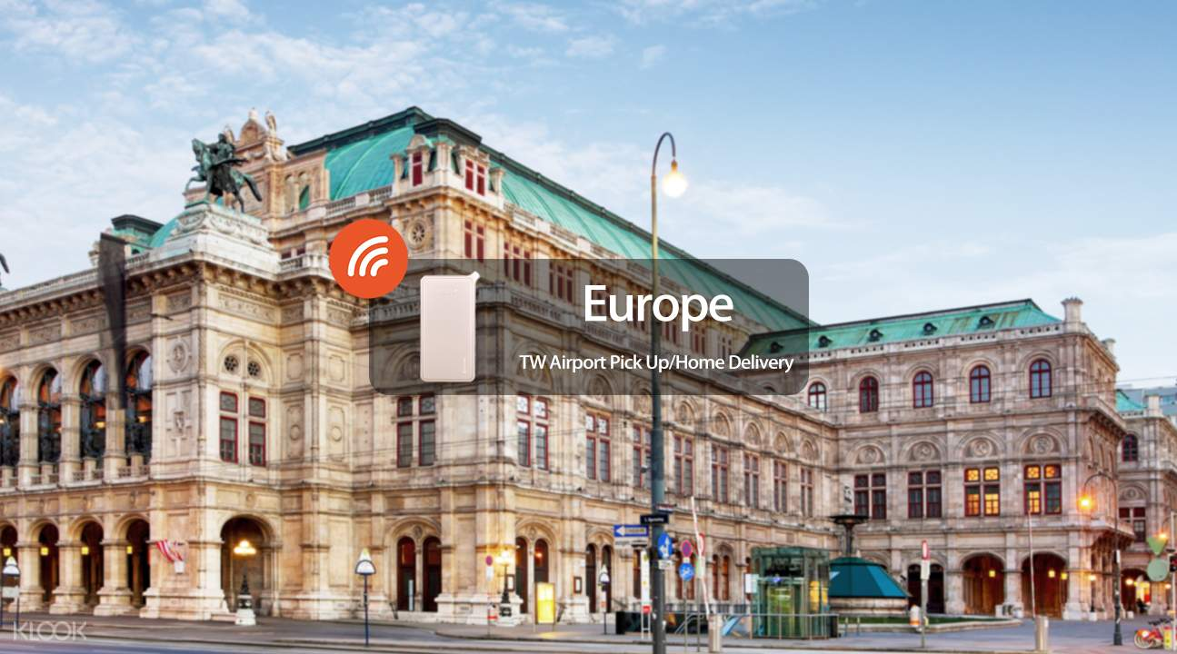 4G WiFi Airport Pick up /  Home Delivery for Europe
