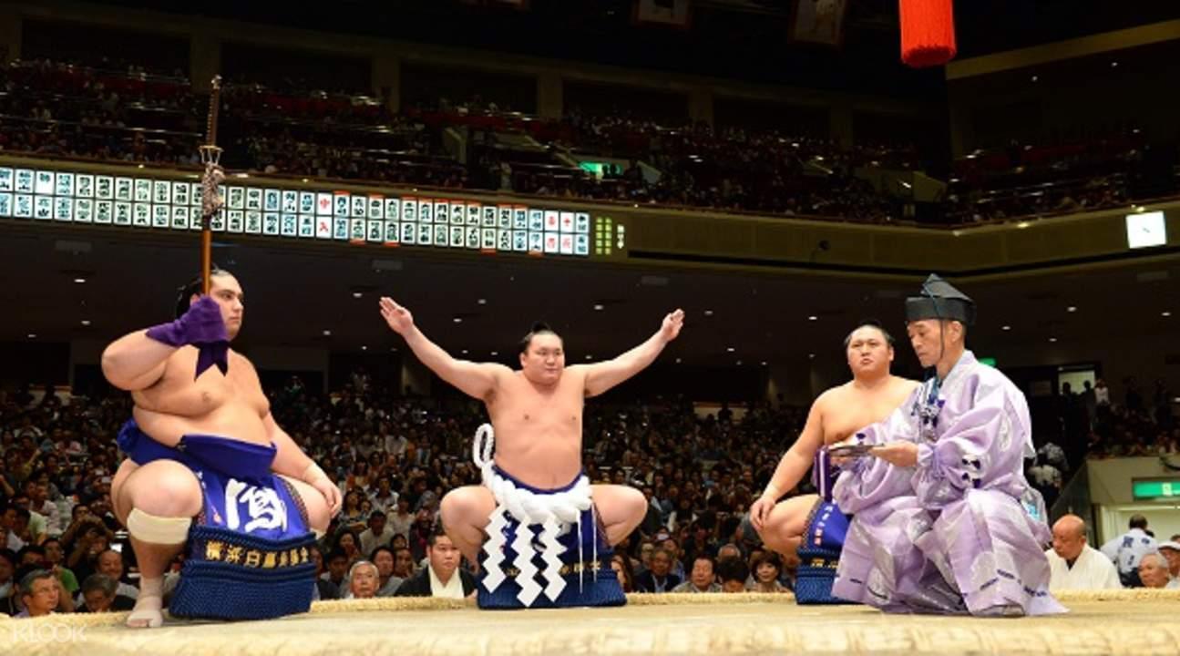 tokyo sumo wrestling