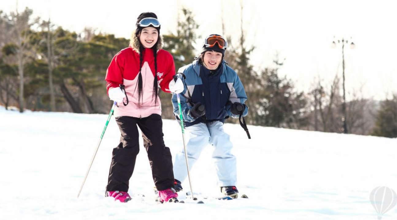 芝山森林度假村滑雪