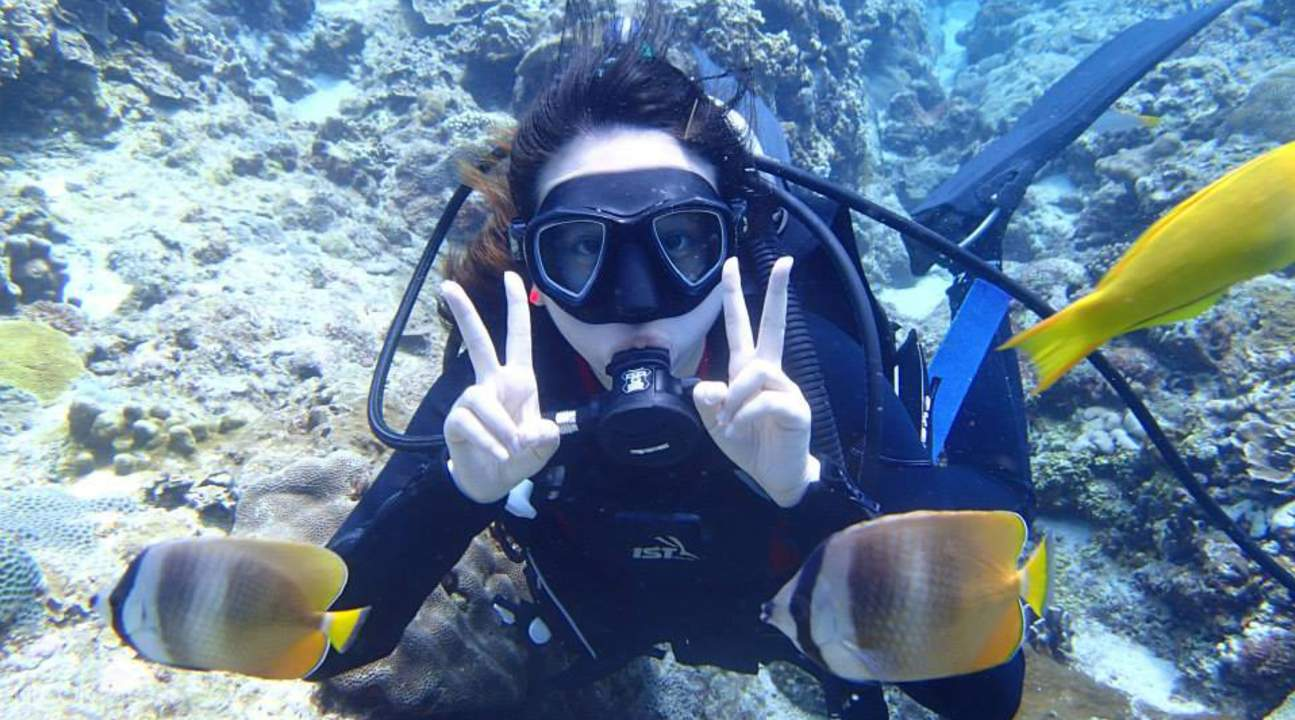 Lanyu Island Diving Experience