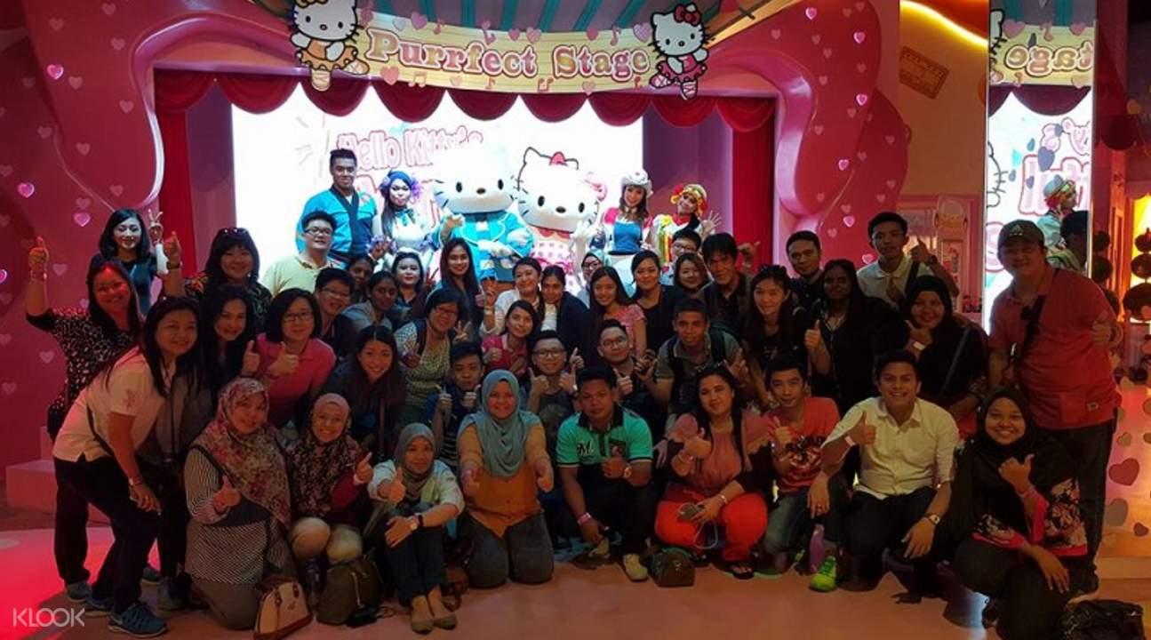 新加坡至马来西亚Hello Kitty主题乐园