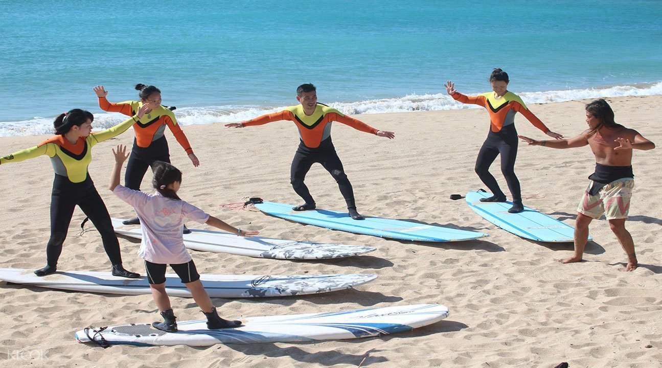 阳光垦丁,冲浪课程