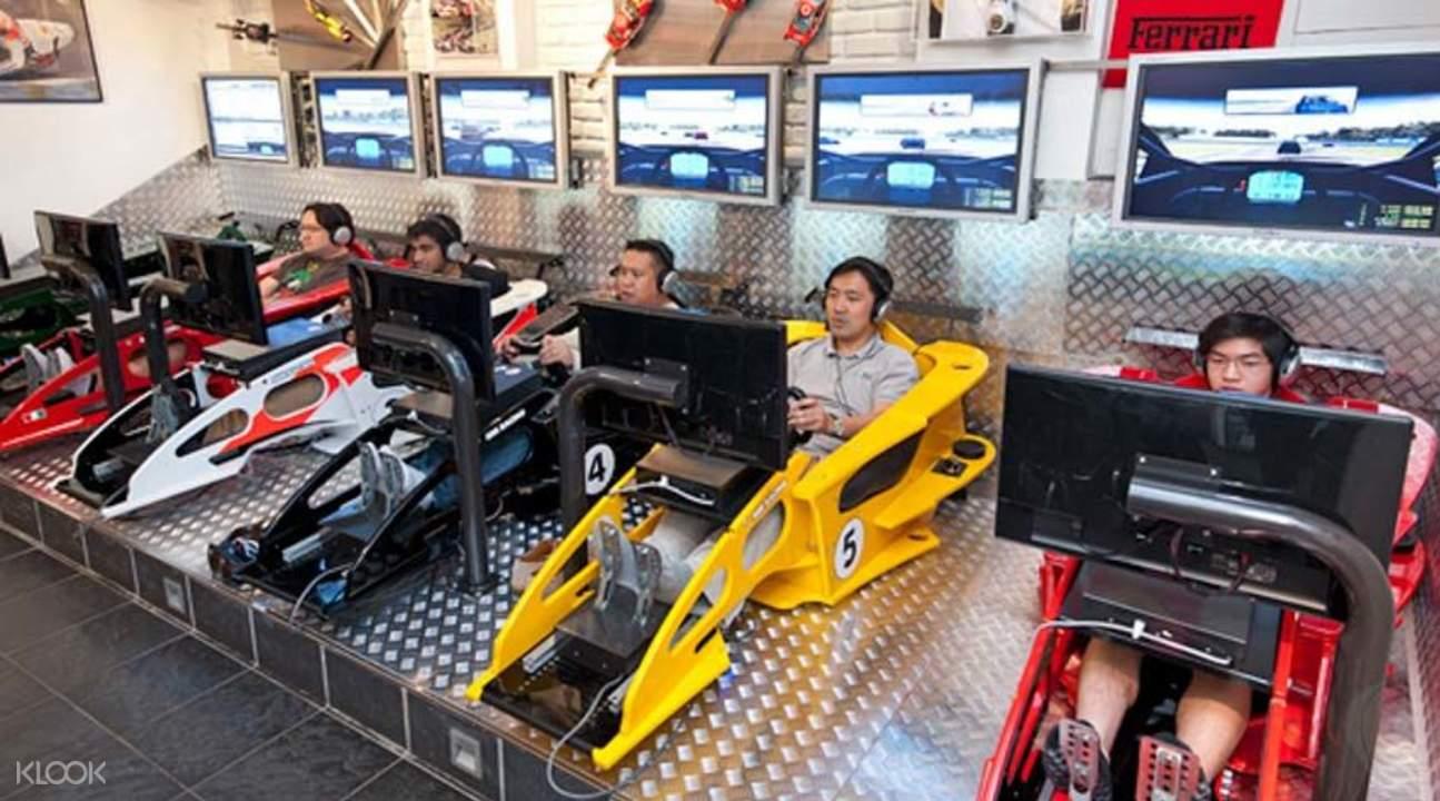 模擬賽車體驗