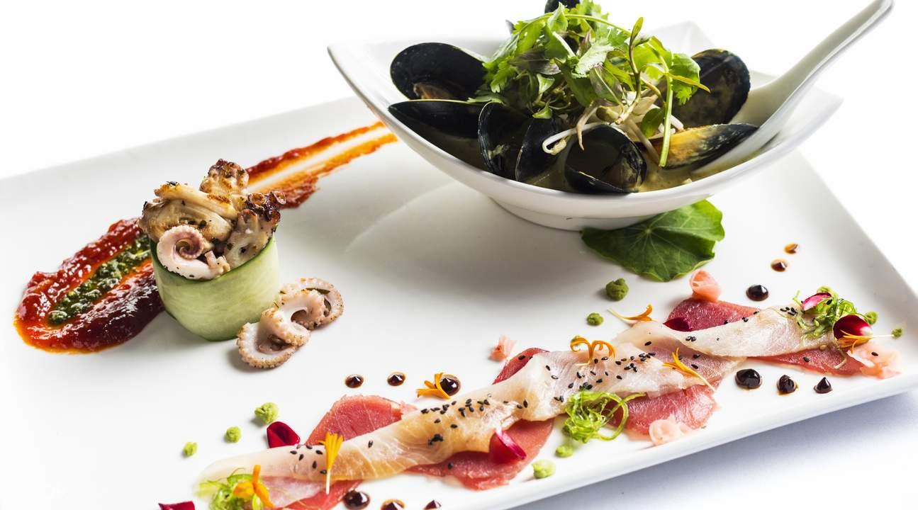 ochre restaurant set menu cairns australia