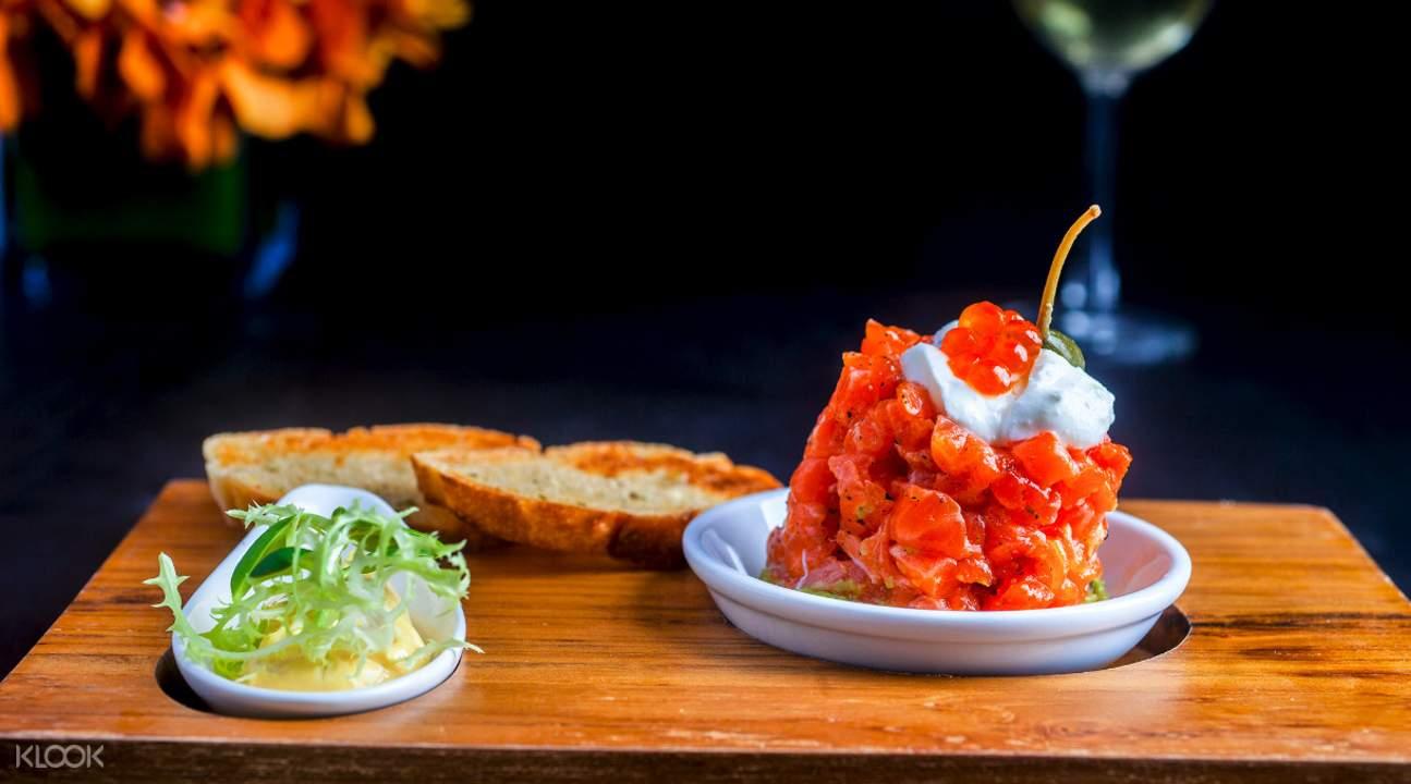 Bruschetta with Tomato and Basil La Gritta at Amari Phuket Thailand