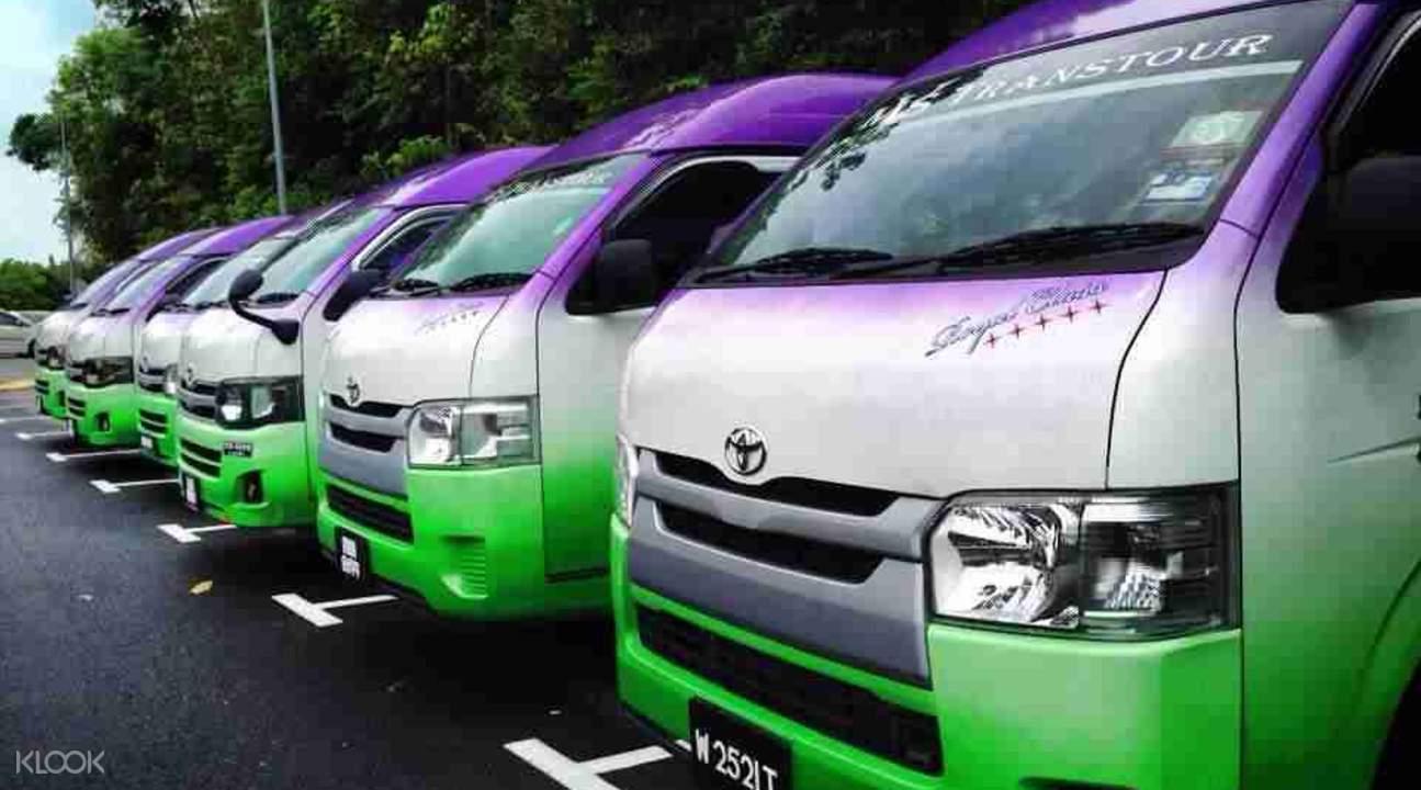Intercity Transfers To/From Kuala Lumpur