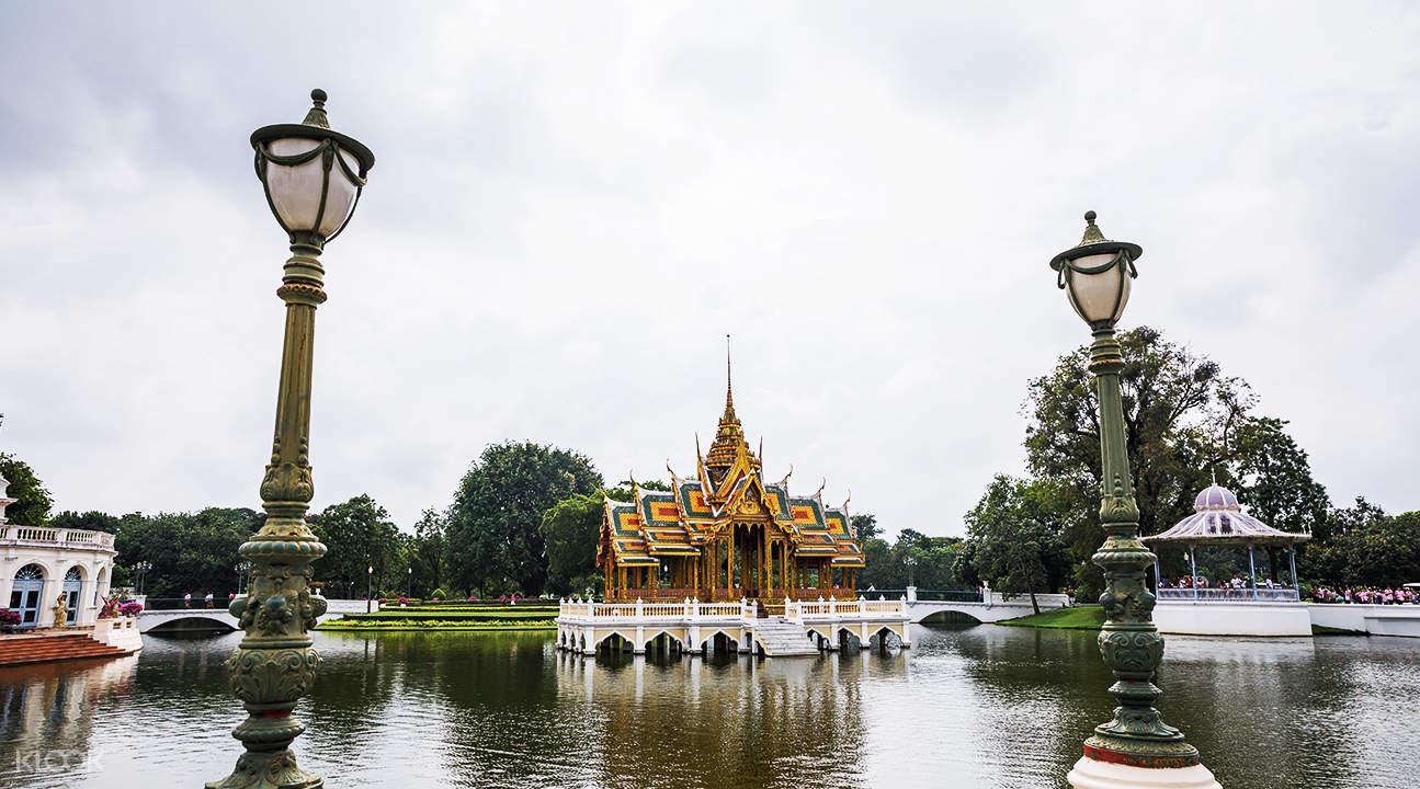 lake view of bang pa in summer palace