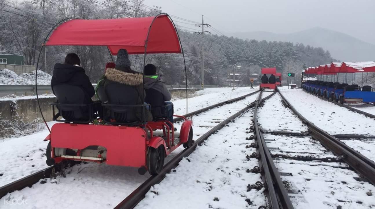 gangchon rail bike