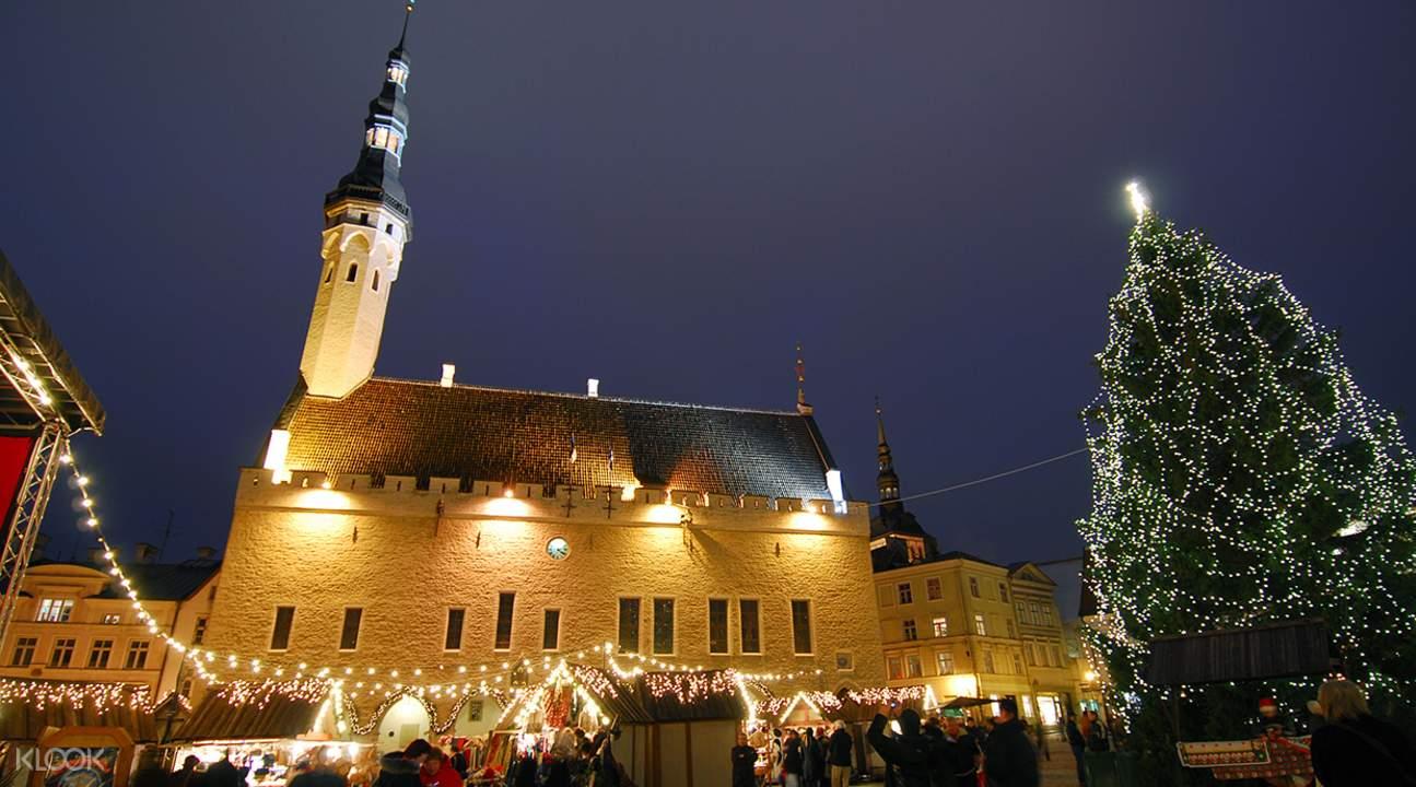 塔林老城区导览一日游 赫尔辛基出发