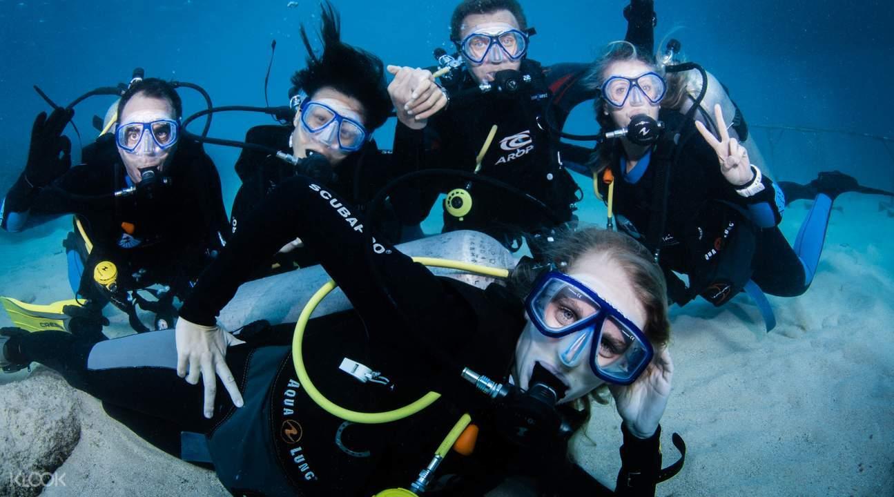 巴厘島PADI潜水課程1