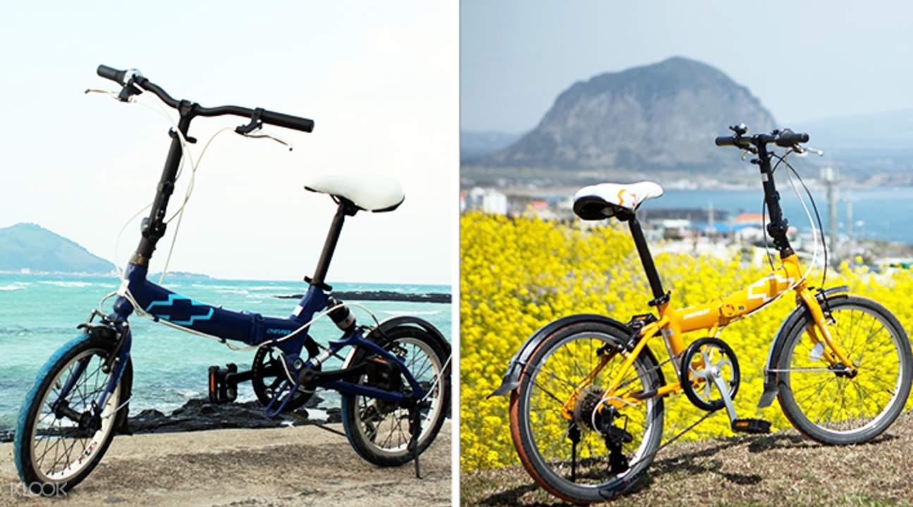 jeju bicycle rental 2 days