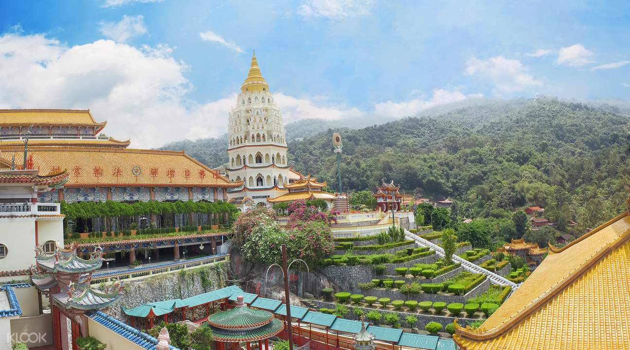 Penang Hill and Temple Sightseeing