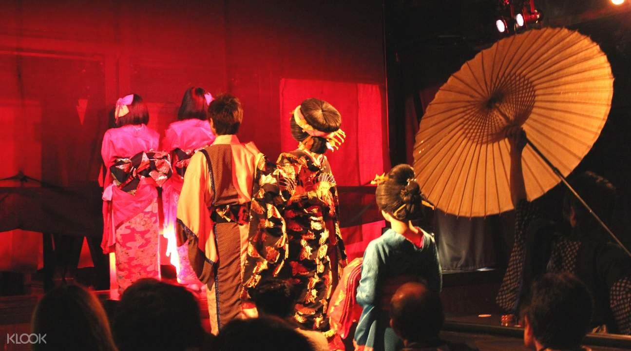 Tokyo dance show