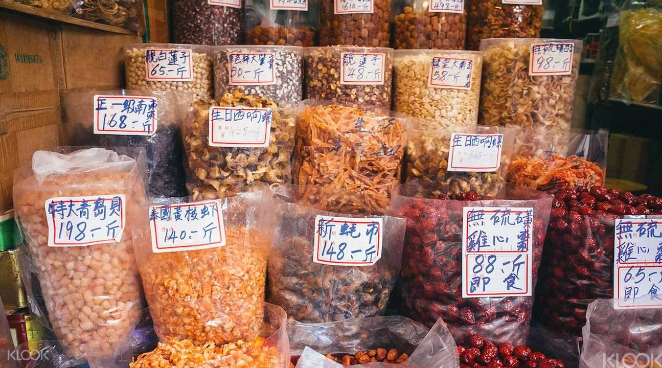 Chinese food stall
