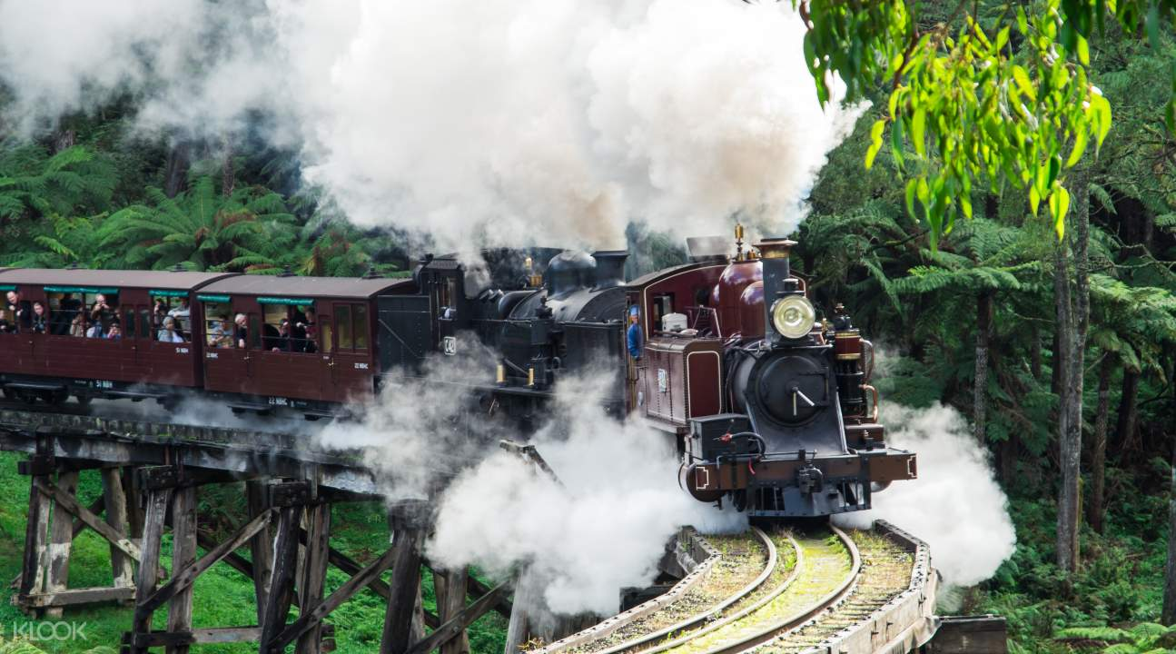Puffing Billy Steam Train tickets
