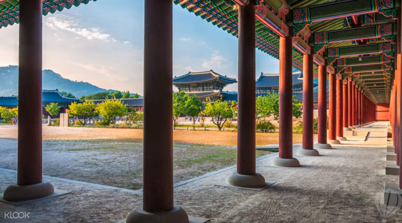 Gyeongbokgung Palace grounds