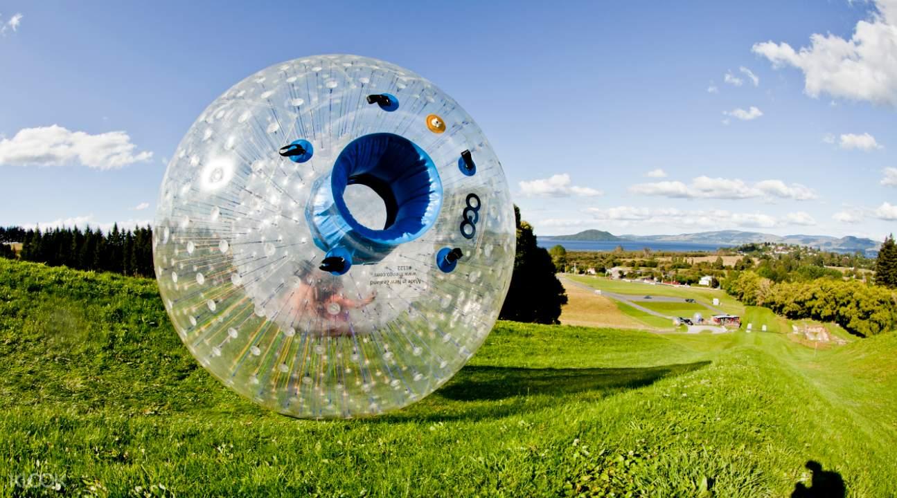 an ogo inflatable ball
