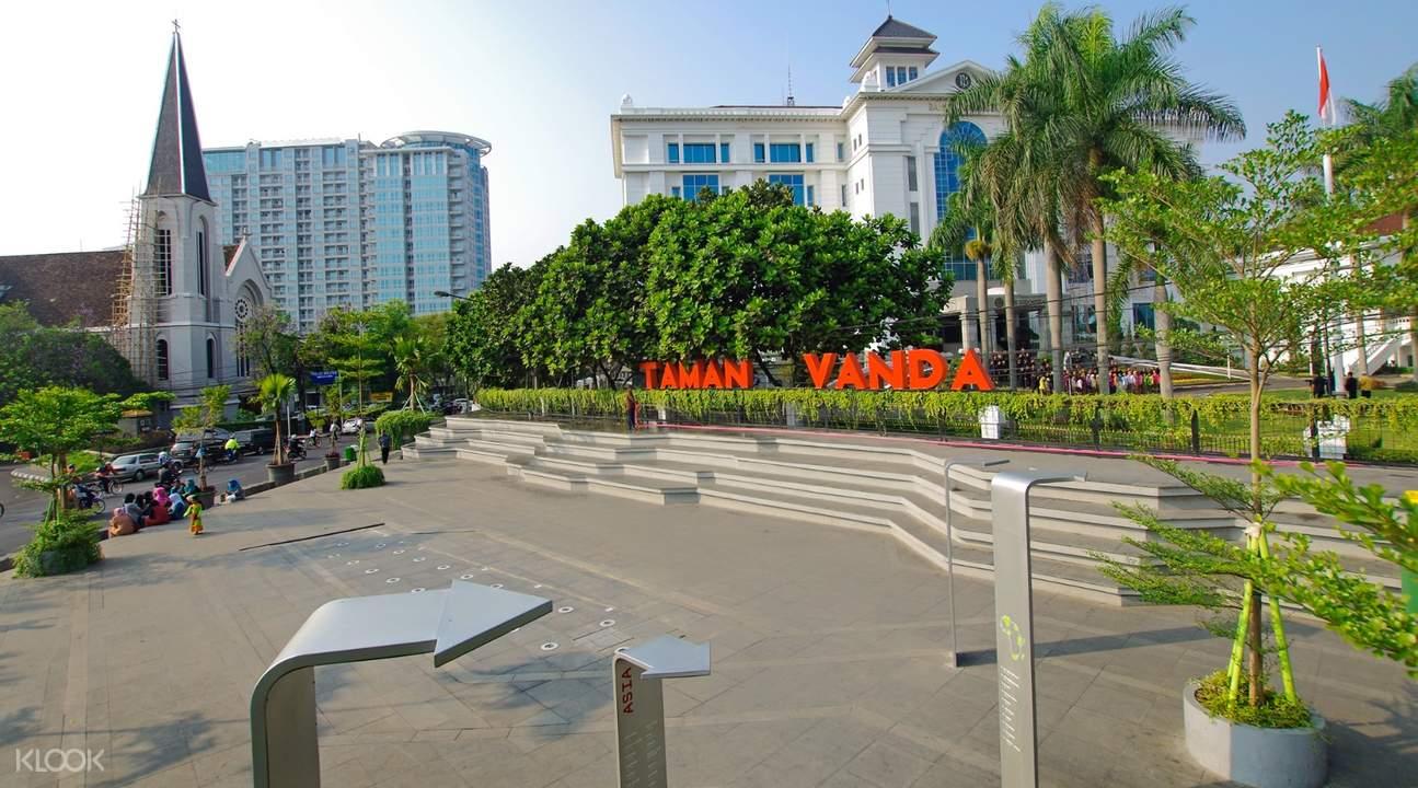 Taman Vanda Bandung Indonesia