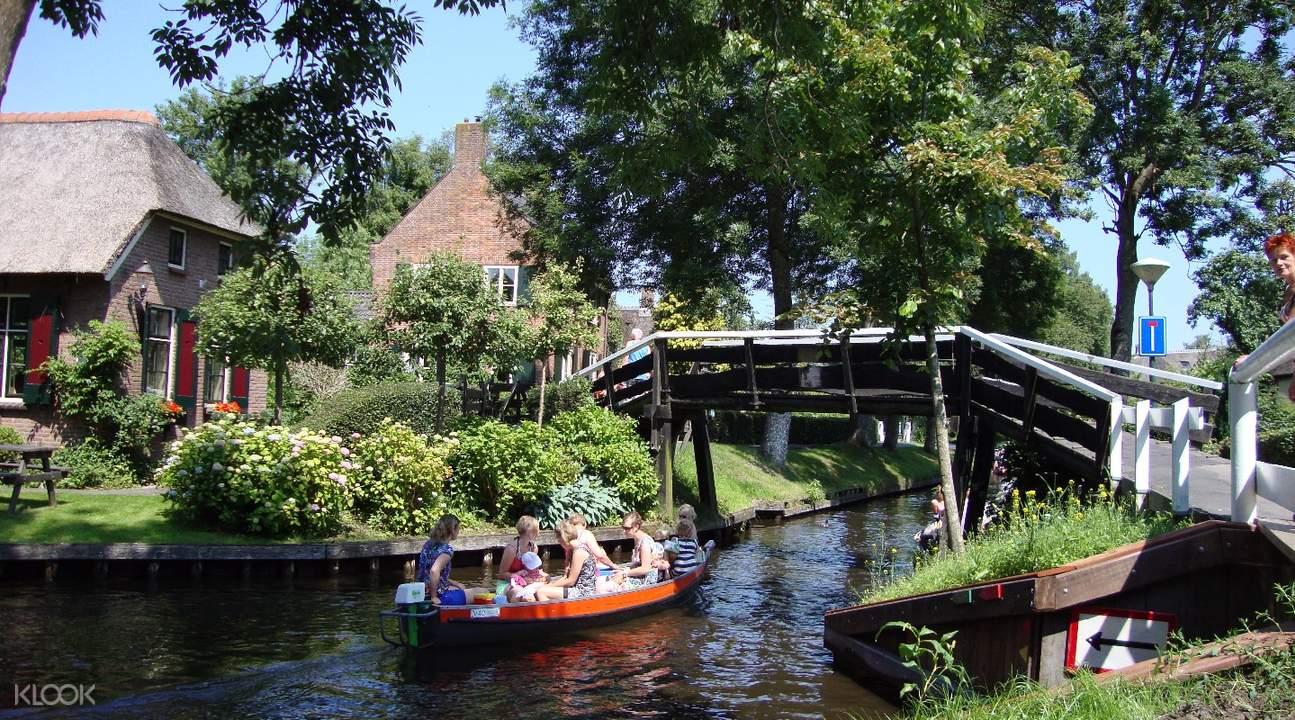 羊角村一日遊,阿夫魯戴克大壩,荷蘭北部一日遊,羊角村