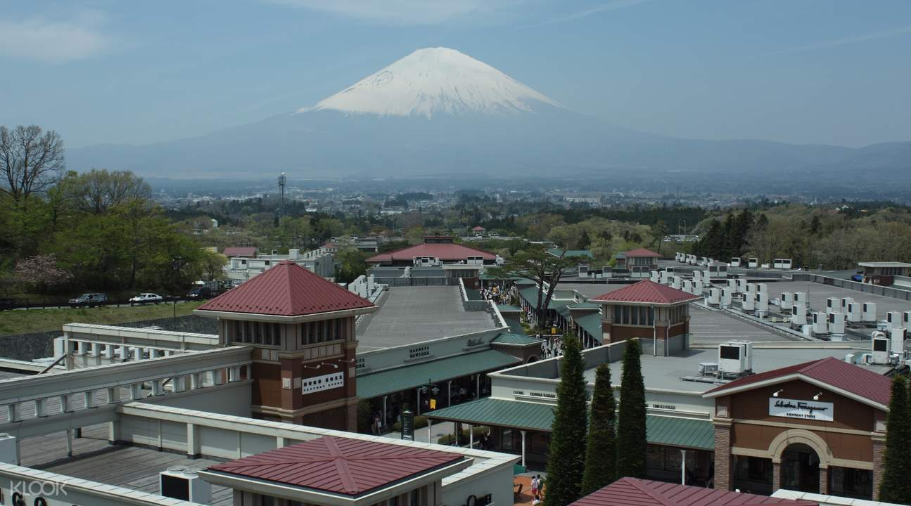 gotemba premium outlets rooftop