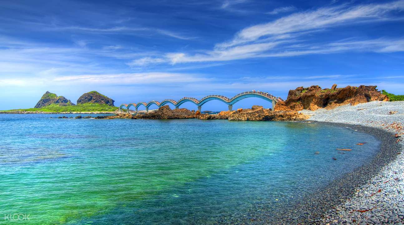 台湾自驾游 东海岸三仙台跨海拱桥